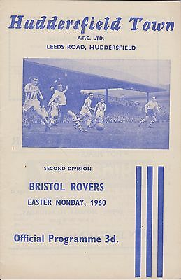 HUDDERSFIELD TOWN v BRISTOL ROVERS 59-60 LEAGUE MATCH
