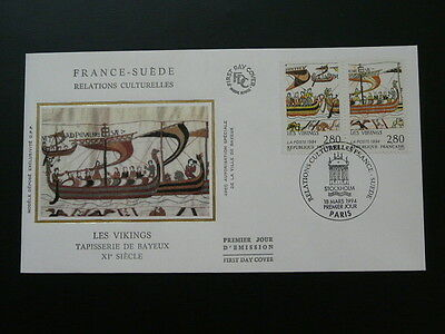 history viking ship tapestry of Bayeux William the Conqueror FDC 58516
