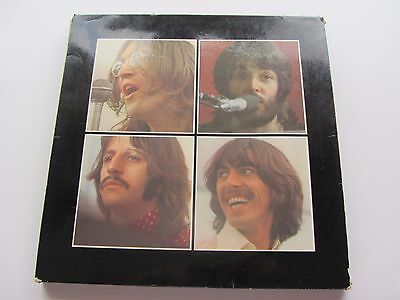 The Beatles Original 1970  Uk Lp  Let It Be  Box Set  Red Apple  Poster  -2U -3U