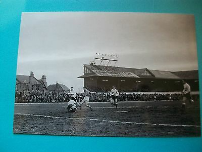 "RAITH ROVERS  MATCH  1960s ? 6""x4"" REPRINT POST FREE"