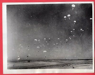 1941 British Volunteer Special Air Service Training Middle East 7x9 News Photo