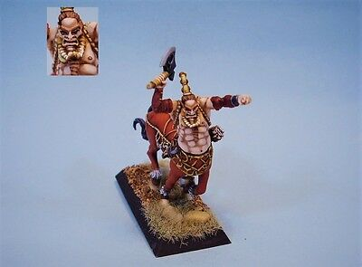 Confrontation painted miniature Barbarian Centaur