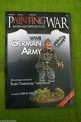 Painting War Issue #1 Wwii German Army Book/ Magazine