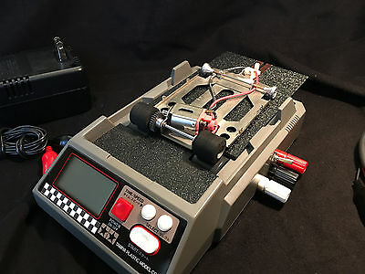 1/24 & 1/32 SLOT CAR TREADMILL DYNO FOR TUNING / BREAK IN TRACKSIDE or TABLETOP!