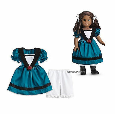 """American Girl CECILE MEET OUTFIT for 18"""" Dolls Dress Clothes Retired NEW"""
