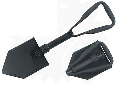 US Army Tri-Fold Entrenching Tool E-Tool  Genuine Military Issue Shovel Spaten