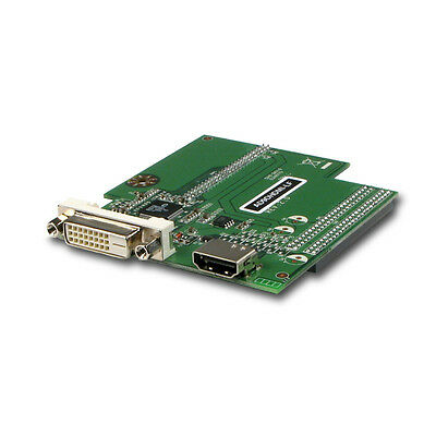 Jetway HDMI port and DVI-D port Module  AD9DHDMI-LF  Jetway NF92 Board Add-On