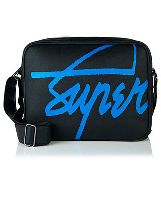 New Superdry Kayem Messenger Bag Black