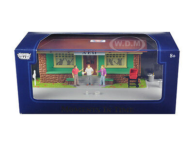 """""""moments In Time"""" Diorama Put Your Own Car Inside 1/43 Motormax 73866N"""