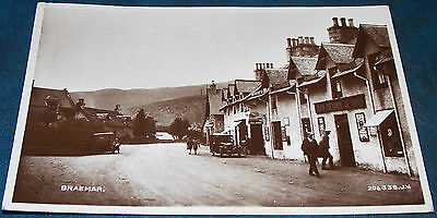 Superb Real Photo Pc Of Braemar Aberdeenshire Posted 1930