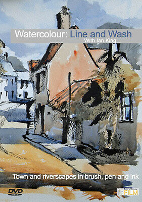 Townhouse DVD : Watercolour Line and Wash : Ian King Ely