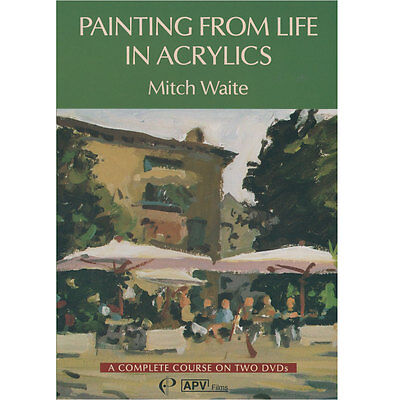 DVD : Twin Pack : Painting From Life In Acrylics : Mitch Waite