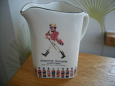 Rare Collectable Johnnie Walker  Scotch Whisky Water Jug Unused