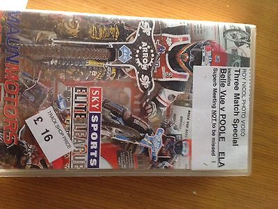 2003 BELLE VUE v POOLE + Extras ORIGINAL SPEEDWAY VIDEO