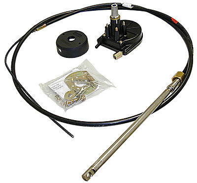 Set ULTRAFLEX Rotech IV Steering head + Control cable up to max 55hp