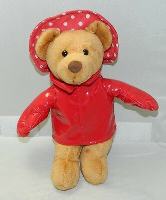 MARY MEYER Claws for Paws Teddy Bear with Lobster Hat, Hands + Raincoat