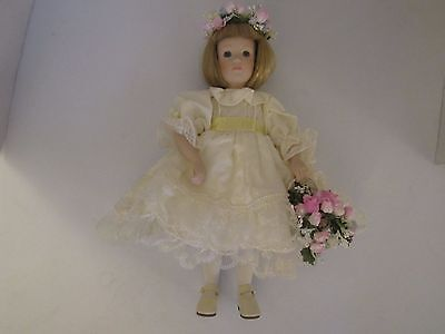 Danbury Mint Princess Diana's Flower Girl Porcelain Doll w/Box