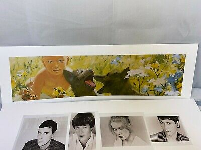 TALKING HEADS Once in a Lifetime Rare 5 Lithograph 24x8 Poster