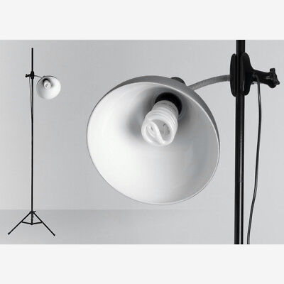 Daylight Lighting : Artist Studio Lamp + Stand (32W) : Brushed Chrome