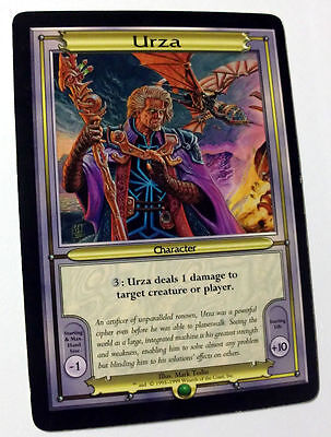 Mtg Magic Paper Vanguard Oversize Card Urza English Promo Very Good Condition