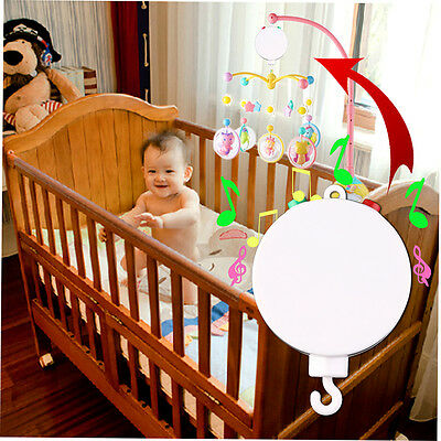 New Unique Design Baby Crib Mobile Bed Bell Toy Wind-up Music Box HW