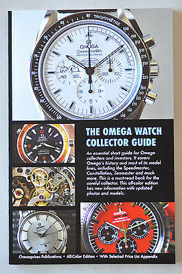 Omega Watch Collector Book Constellation Seamaster Snoopy Speedmaster All COLOR