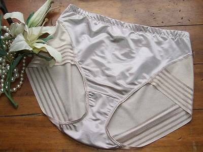M&S Magicwear Knickers Superb Shiny Tummy Slimming Control UK 16   [C8