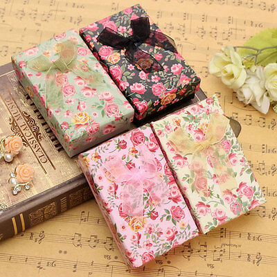 2-12Pcs Jewellery Gift Boxes For Necklace Bracelet Bangle Earring Case Set Hot