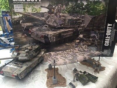 Mega Bloks Call Of Duty Collectors Series Heavy Armor Outpost