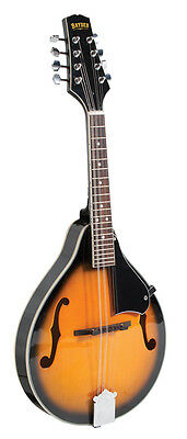 "BRYDEN SMA10 ACOUSTIC ARCH TOP SUNBURST MANDOLIN TEARDROP ""A"" STYLE w  WARRANTY"