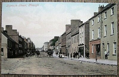 Barrack Street, Nenagh, Ireland.  Old Postcard.