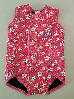 SPLASH ABOUT BABY WRAP WETSUIT ~ AS NEW, UNUSED ~ SIZE LG 18-30months UPF 50+