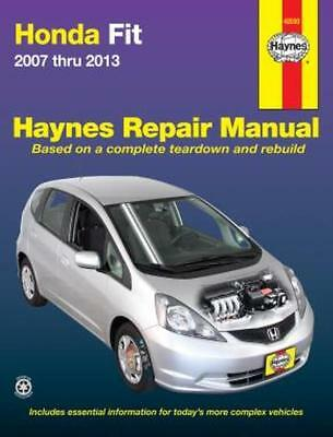 Haynes Workshop Manual Honda Fit  2007-2013 Service & Repair