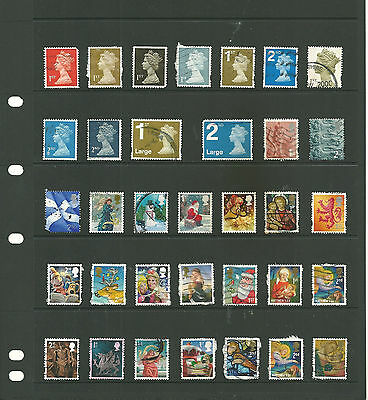 GB  5 stock sheets   definitive   mix collection stamps