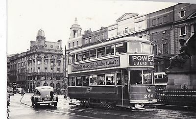 re irish photograph ireland dublin tram 266 transport