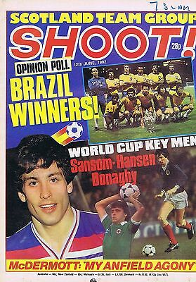 BRAZIL / SCOTLAND TEAM / GERRY ARMSTRONG N IRELAND	Shoot	12	Jun	1982