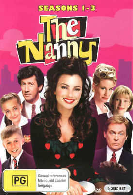 The Nanny Season / Series 1 2 3 Box Set DVD R4 New!!