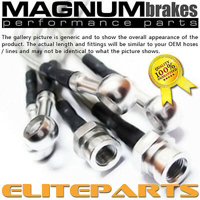 StainlessSteel Brake Lines for 1997-2003 BMW 5-Series (E39)