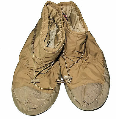 USMC Primaloft Booties  LARGE  Coyote Brown wild things Happy Bootys