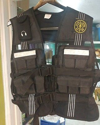 GOLDS GYM 20 Pound Adjustable Conditioning Weight Vest Gently Used