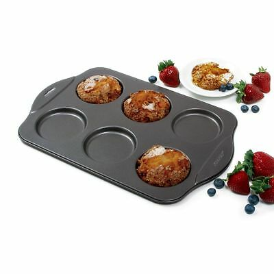 Norpro 3973 Non Stick 6-Cup Puffy Crown Muffin Pan