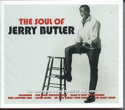 Jerry Butler - The Soul Of - The Best Of / Greatest Hits 2CD NEW/SEALED