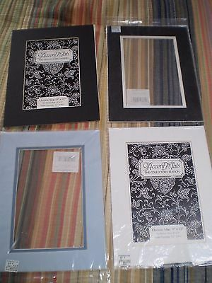 """Lot of (4) 9"""" x 12"""" Picture Mats"""