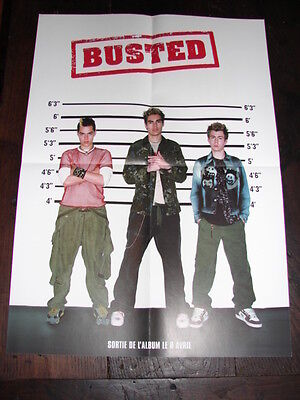 Busted Debut Album!!!!!!!!!!!!!!french Press/kit Poster