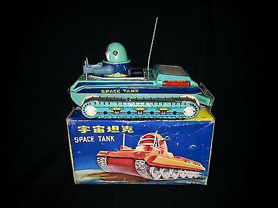 1960's China-ROBBY SPACE TANK-NMIB-Working-Ships Worldwide