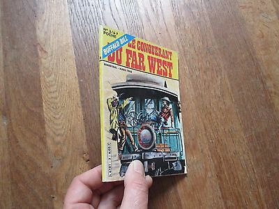 PETIT FORMAT BD BUFFALO BILL LE CONQUERANT DU FAR WEST POCHE 3 dpe 1982
