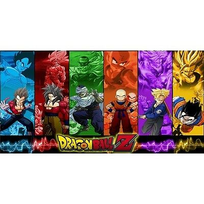 DRAGON BALL Z roku cartoon tv show metal license plate made
