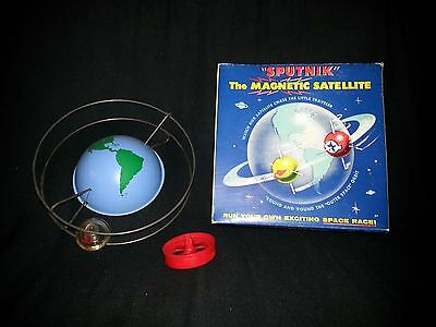 1960's USA-SPUTNIK THE MAGNETIC SATELLITE TOY-NMIB-Ships Worldwide