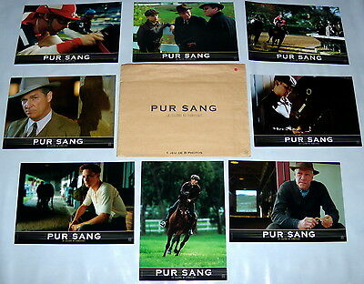 SEABiSCUiT  Tobey Maguire Jockey Jeff Bridges Chris Cooper  8 FRENCH LOBBY CARDs