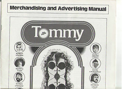 Tommy Ann Margret Elton John The Who Nicholson Tina Turner Powell Reed Pressbook